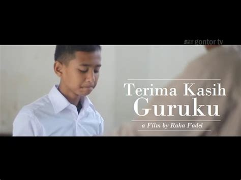 film pendek romantis islami gontor tv video motivasi islami film pendek ceramah