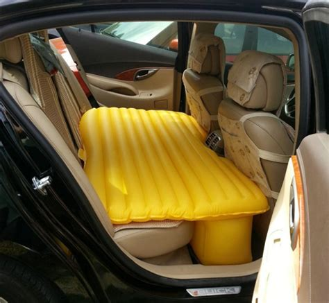 backseat bed inflatable car mattress turns your backseat into a bed
