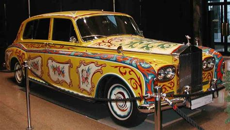 cars and motorcycles lennons cool psychedelic rolls