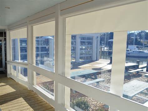 boat canopy window vinyl zipper screen clear vinyl windows maryland deck awnings