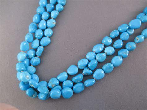 sleeping turquoise ne6995 3 strand sleeping turquoise necklace by