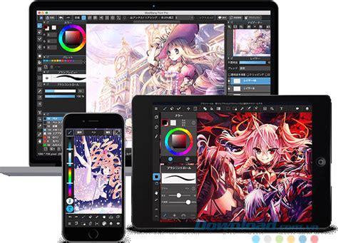 medibang paint medibang paint pro 7 5 phần mềm vẽ truyện tranh nhật bản