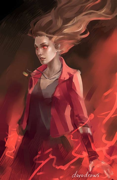 Poster The Age Of Ultron Scarlet Witch Ukuran A3 genderbend scarlet witch wip scarlet witch from age of ultron the