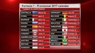Kalender 2018 One Stop F1 2017 Calendar And Schedule Driver Line Ups And Test