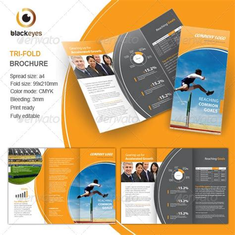 180 Best Images About Print Templates On Pinterest Fonts Flyer Template And Business Card Vistaprint Trifold Brochure Template
