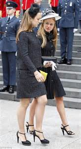 Row House Cafe - princess eugenie and lady amelia windsor stun at the queen s birthday service daily mail online