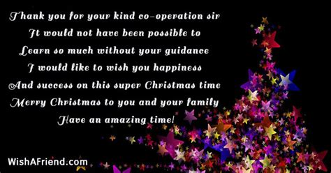 kind  operation christmas message  boss