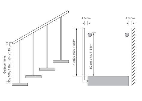 Handlauf Halterung Abstand by Handlauf Treppen Treppenelemente Baunetz Wissen
