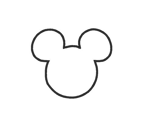 mouse silhouette template disney on disney applique disney shirts and