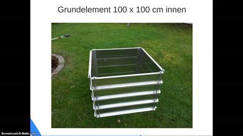 haus und gartenwelt metall hochbeet aus aluminium www haus gartenwelt