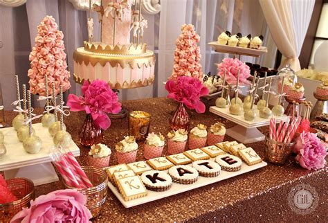 Sweet Table Pink Gold 2 ? CDL Events