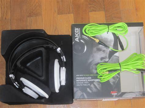 Akg Q701 Quincy Jones Green Edition Headphone akg q701 quincy jones signature image 632527 audiofanzine
