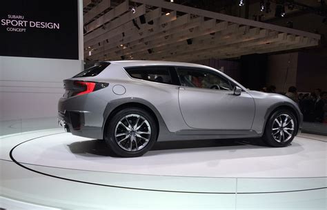 sport subaru brz subaru cross sport shows potential brz shooting brake