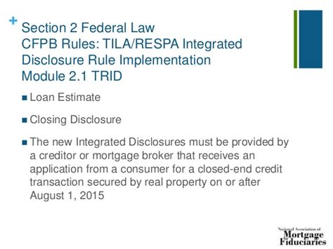 section 6 of respa 8 hour safe loan originator continuing education 2015