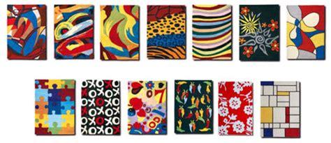 tappeti moderni colorati tappeti cow parade anche in italia quelli delle mucche da
