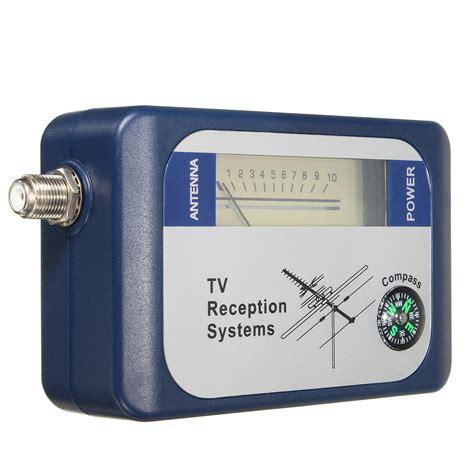 Bi154 Dvb T Signal Finder W Compass 5 1000mhz Satellite Satelit Sf95dt Dvb T Finder Digital Aerial Terrestrial Tv Antenna