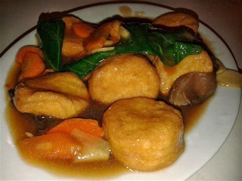 gurami saus mangga  tofu saus tiram dcost surabaya