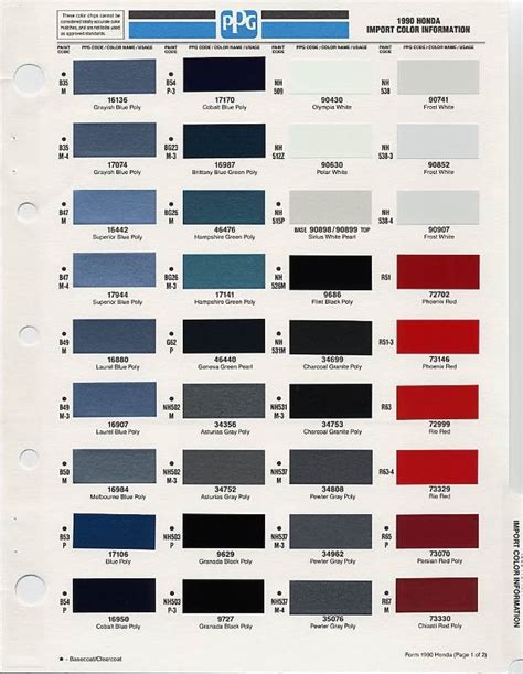 best color codes 108 best images about auto paint colors codes on