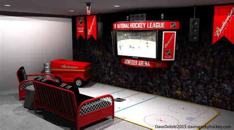 ice hockey bedroom ideas hockey room dave delisle davesgeekyhockey 2013 187 strategy