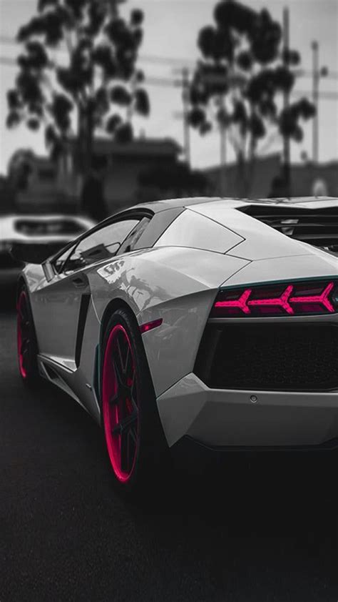 lamborghini aventador sportscar dark iphone  wallpaper