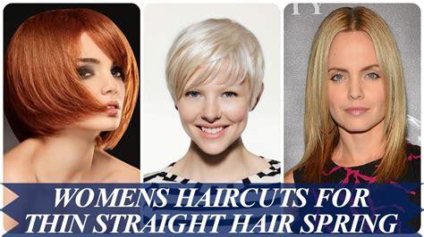 spring haircuts for thin hair 20 best ideas about womens haircuts for thin straight hair