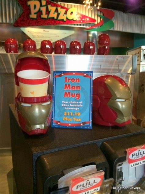 Souvenir Hers Goodie Mug dining in disneyland the iron waffle at pizza port