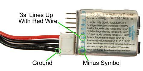 Batt Checker 2 7cell 1 8s lipo battery voltage tester monitor