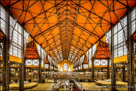 Modern Fruit Great Market Hall Budapest Hungary 187 Architecture And