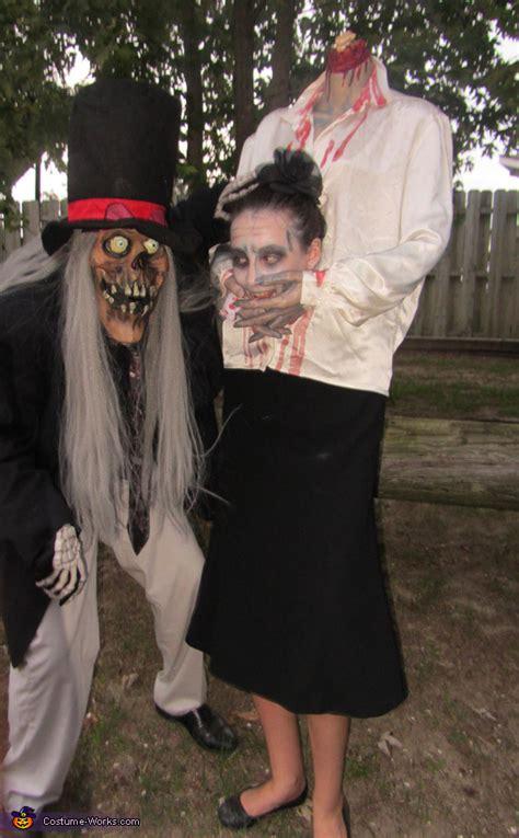headless girl halloween costume idea