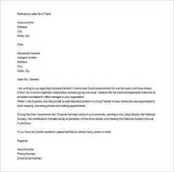 Financial Letter Of Reference Exle Personal Letter Of Recommendation Itubeapp Net
