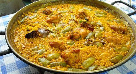 cucinare paella ricetta paella valenciana roba da donne
