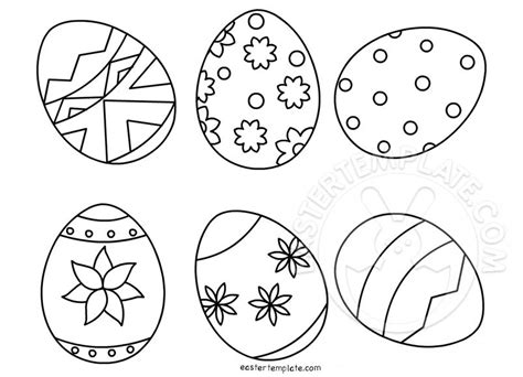 free easter coloring pages for kindergarten easter eggs coloring pages for preschool easter template
