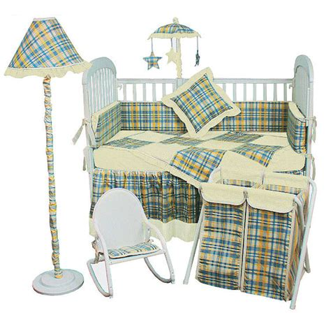 Blue Gingham Crib Bedding Blue Gingham Crib Bedding Pin By Bethany Maddox On Wizard Of Oz Nursery Decor Embroidered