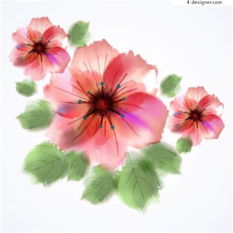 Painted Flower 4 designer painted watercolor flower