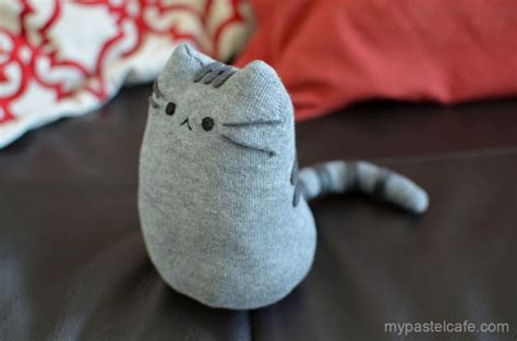 sock cat how to make s kawaii upcycled sock cat refashion nation