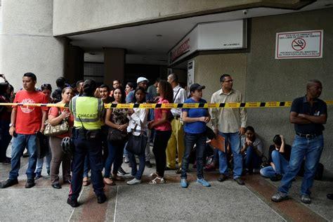 consolato cileno affollato consolato cileno venezuelani in cerca di visti
