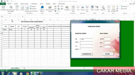 tutorial membuat aplikasi database dengan excel cara membuat database dalam ms excel versi on the spot
