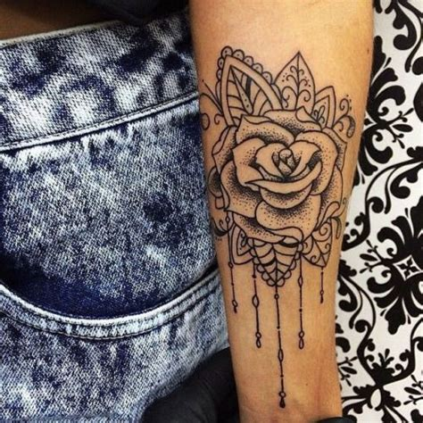 rose arm tattoos for girls piercings and tattoos