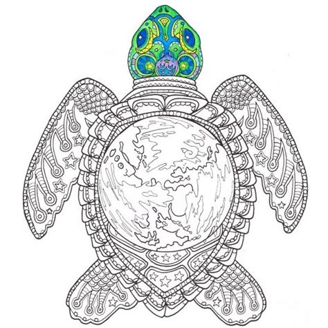 mandala coloring pages turtles sea turtle coloring page hippie coloring pages