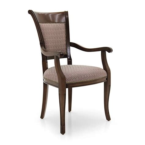 classic armchair styles classic style small armchair made of wood ricciolo 212