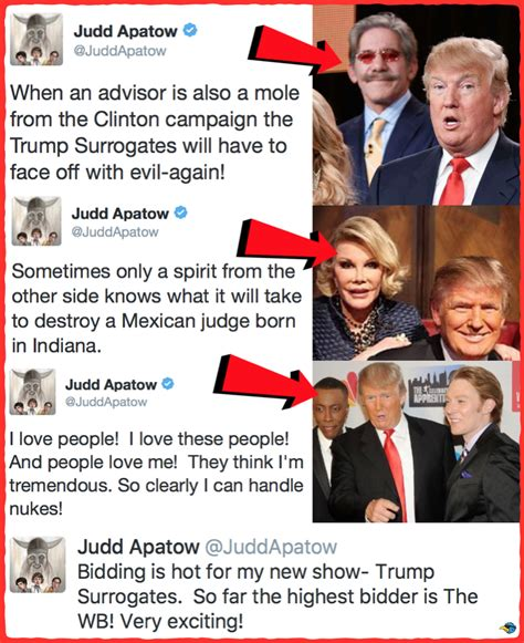 leslie mann trump judd apatow storyboards new series trump surrogates