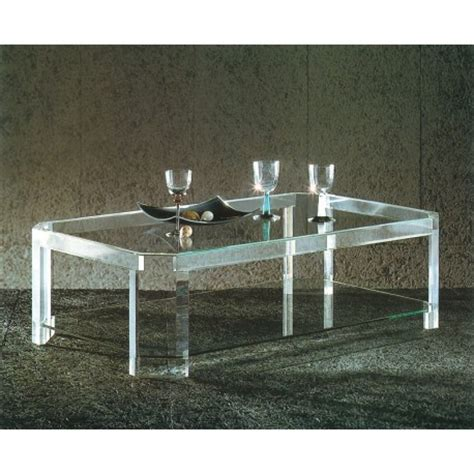 table basse transparente athena ii