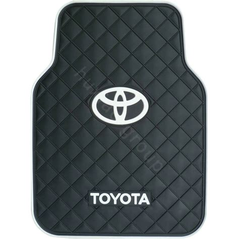Toyota Rubber Car Mats Buy Wholesale Toyota Logo Universal Automobile Carpet Car
