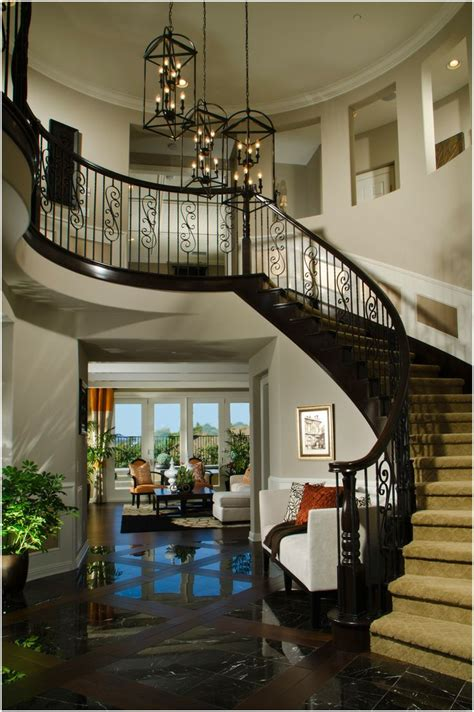foyer stairs traditional wood staircases entry foyer stairs