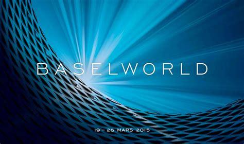 salon baselworld salon mondial de l horlogerie et de la bijouterie