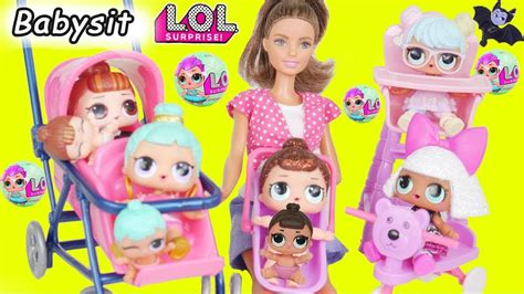 L O L Lil Series 3 l o l dolls baby babysit color lil series 3 unboxed