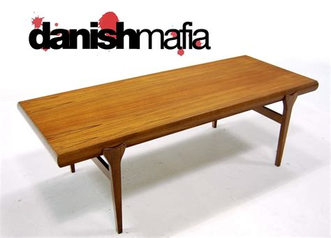 Mid Century Danish Modern Teak Coffee Sofa Table Eames Mid Century Modern Sofa Table