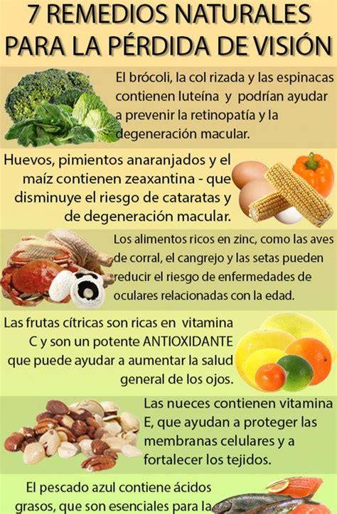 remedios naturales para enfermedades inediacom 7 remedios naturales para evitar la p 233 rdida de visi 243 n