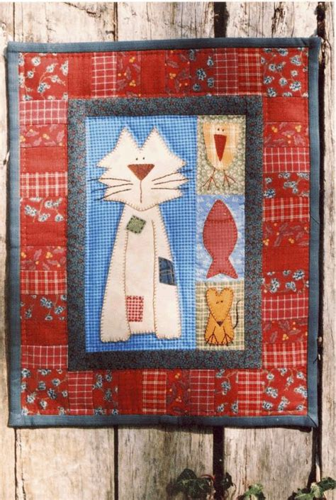 Patchwork Cat Pattern - 670 best crafts images on cats