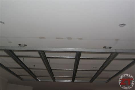 Faux Plafond Spot Led by Brico Cr 233 Ation D Un Faux Plafond Avec Ruban Led Et Spots
